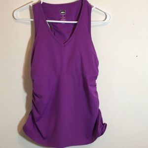 Pretty Purple!! REI Athletic tank top